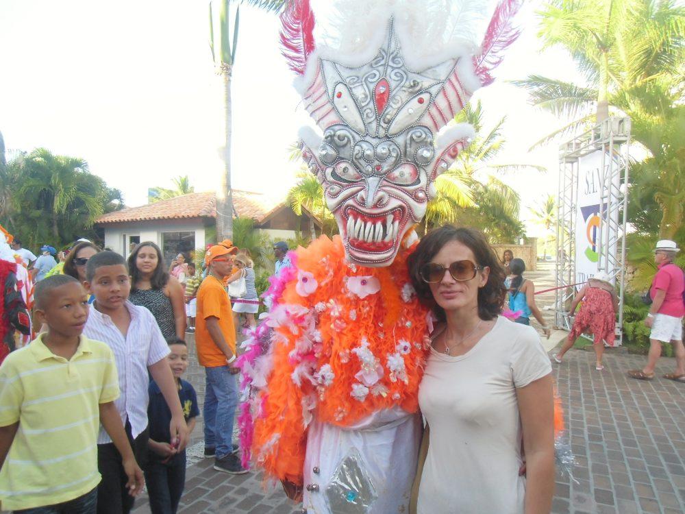 donna al carnevale dominicano