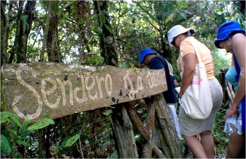 ecoturismo a barahona percorrendo un sentiero