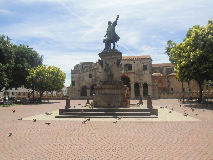 santo domingo capitale: piazza del centro