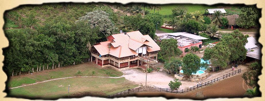 uno dei ranchos in repubblica dominicana