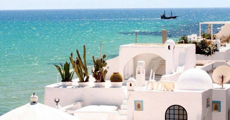 le spiagge più belle della tunisia da visitare: hammamet